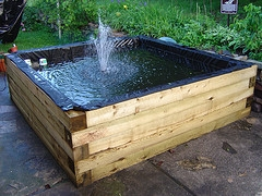 Diy above ground koi pond diy projects for How to build a koi pond above ground
